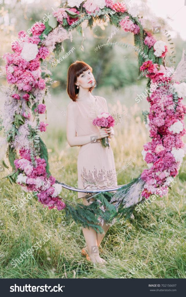 shor hair length fo wedding for Bridesmaids