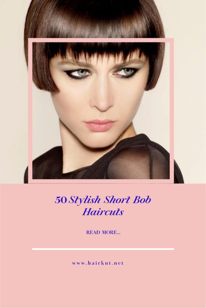 Stylish-short-bob-haircut-poster