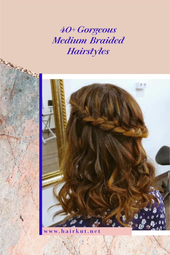 braided medium hair 1