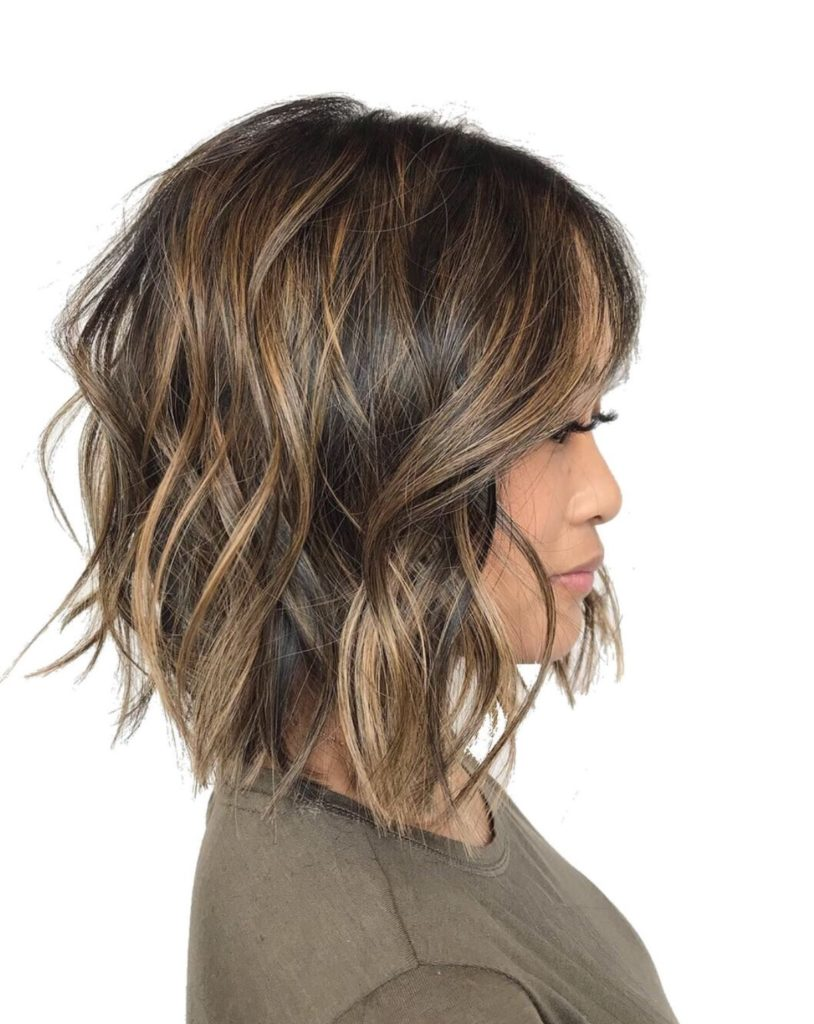 short Balayage Hairstyles trends 2020 dusty blonde