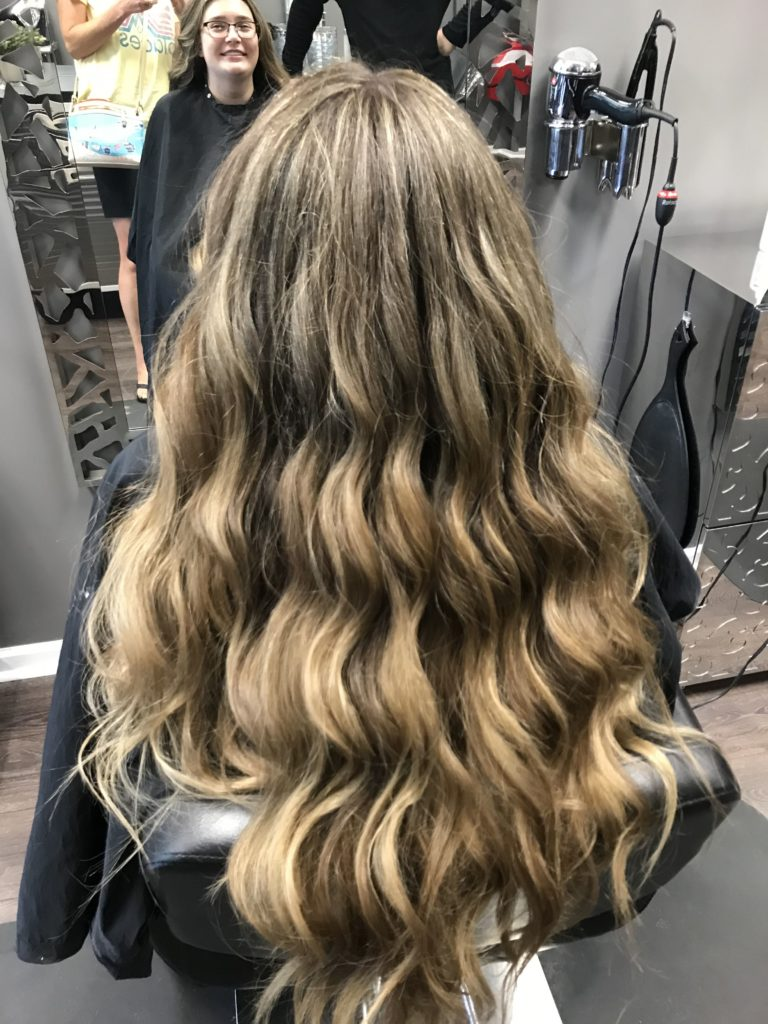 Long Highlights Hairstyles trends 2020 Caramel blonde 2 1
