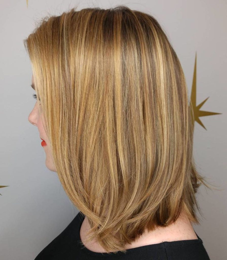Long Highlights Hairstyles trends 2020 Golden Blonde 1