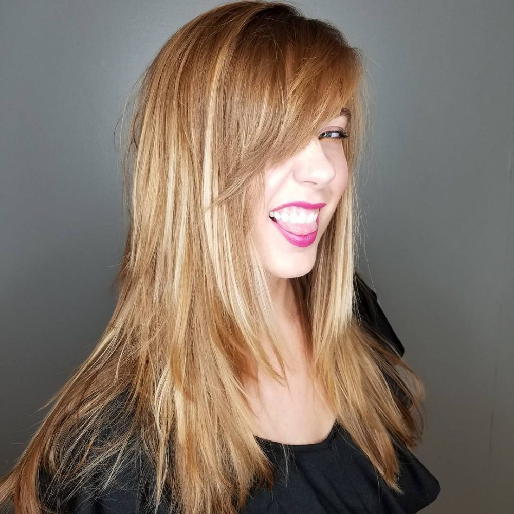 Long Highlights Hairstyles trends 2020 Gradient blonde