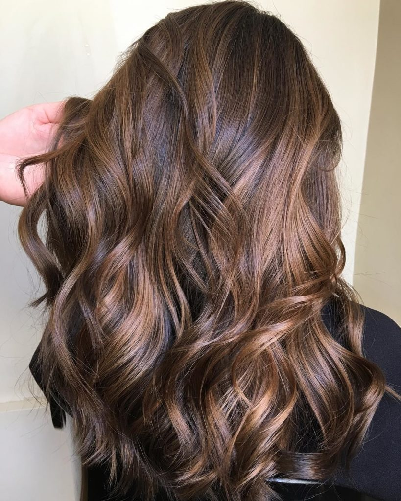 Long Highlights Hairstyles trends 2020 Light brown