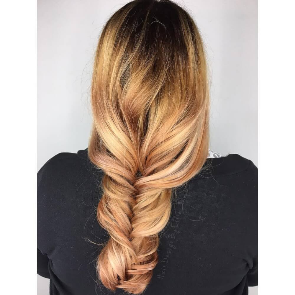 Long Highlights Hairstyles trends 2020 caramel blonde 1
