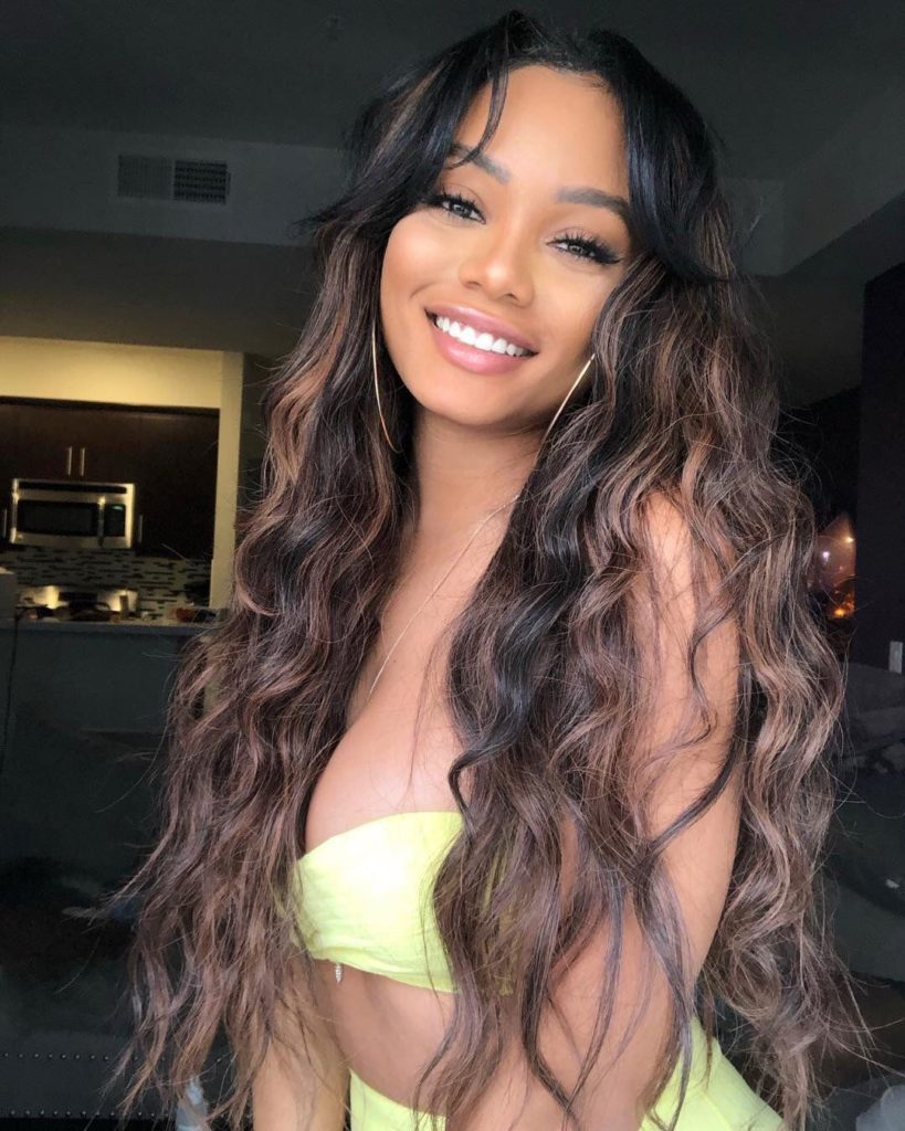 Long Highlights Hairstyles trends 2020 curly ash brown haircuts 1