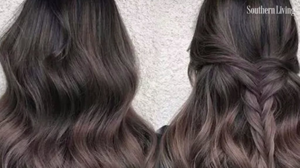 Long Highlights Hairstyles trends 2020 dark brown 1