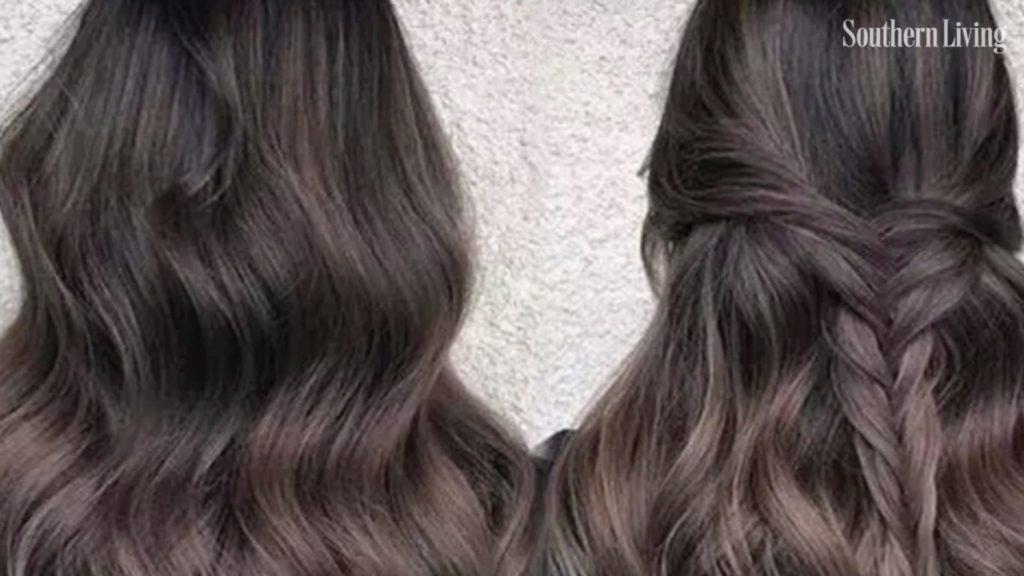 Long Highlights Hairstyles trends 2020 dark brown 2