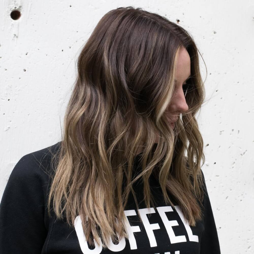 Long Highlights Hairstyles trends 2020 fair amber blond 1