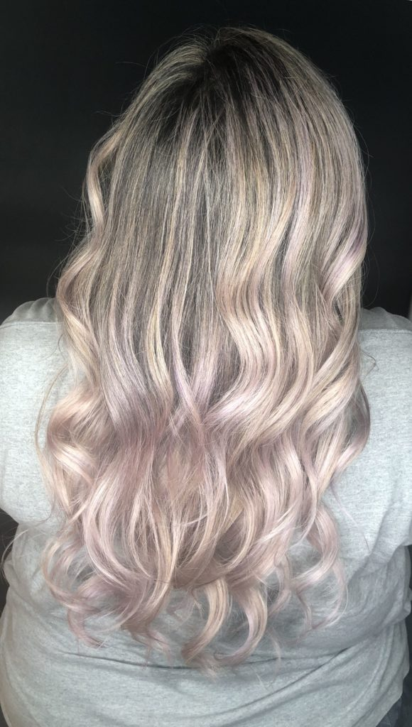 Long Highlights Hairstyles trends 2020 platinum white and silver shades