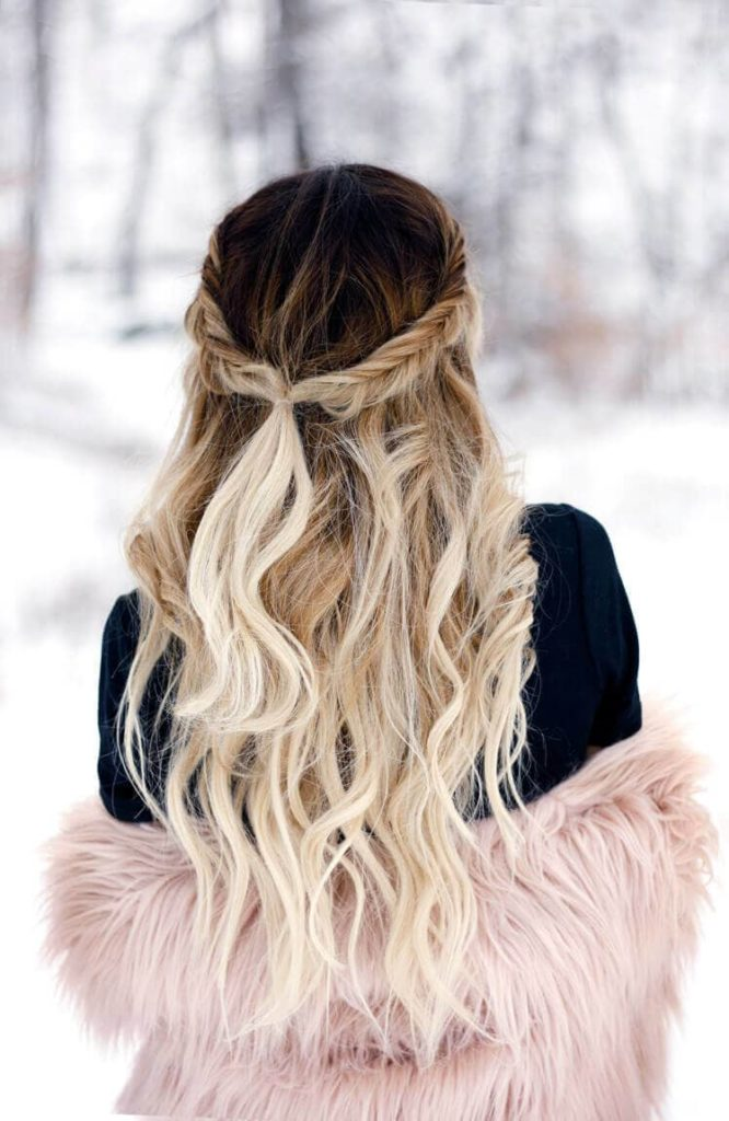 Long Ombre Hairstyles trends 2020 soft blonde highlights 1