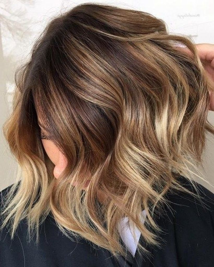 Long Ombre Hairstyles trends 2020 wavy subtle blonde 1