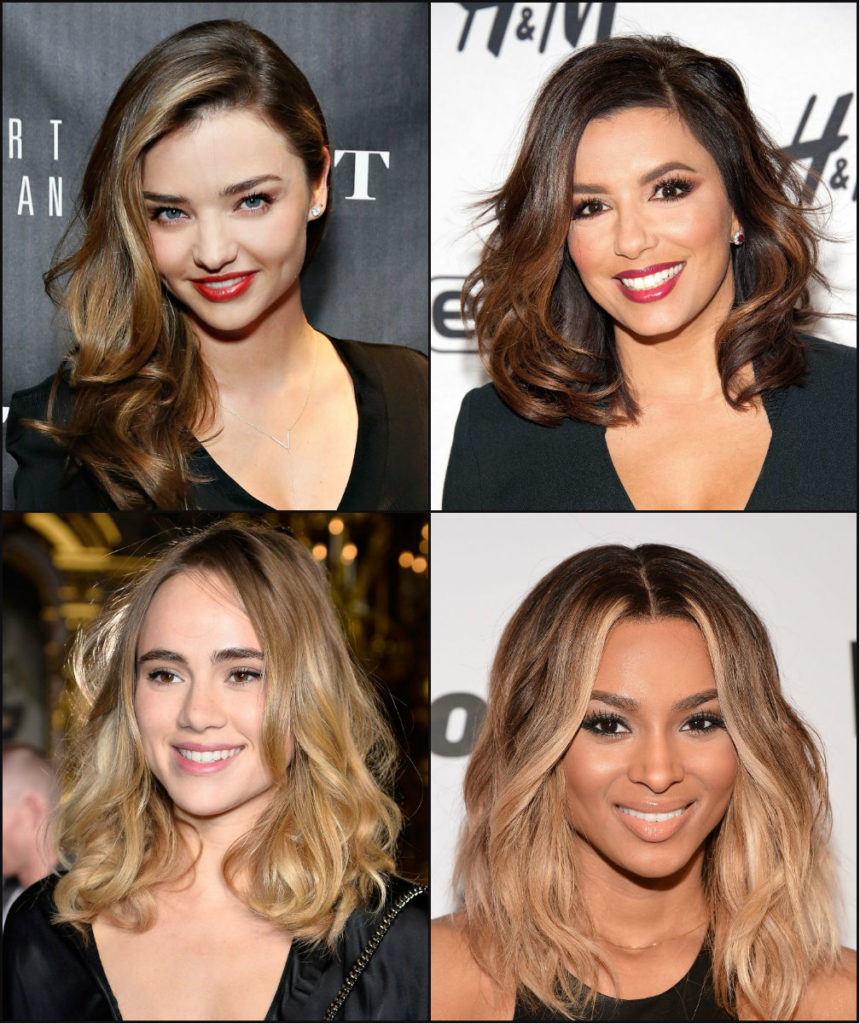 Long Ombre Hairstyles trends 2020 Famous ombré hairstyles 1