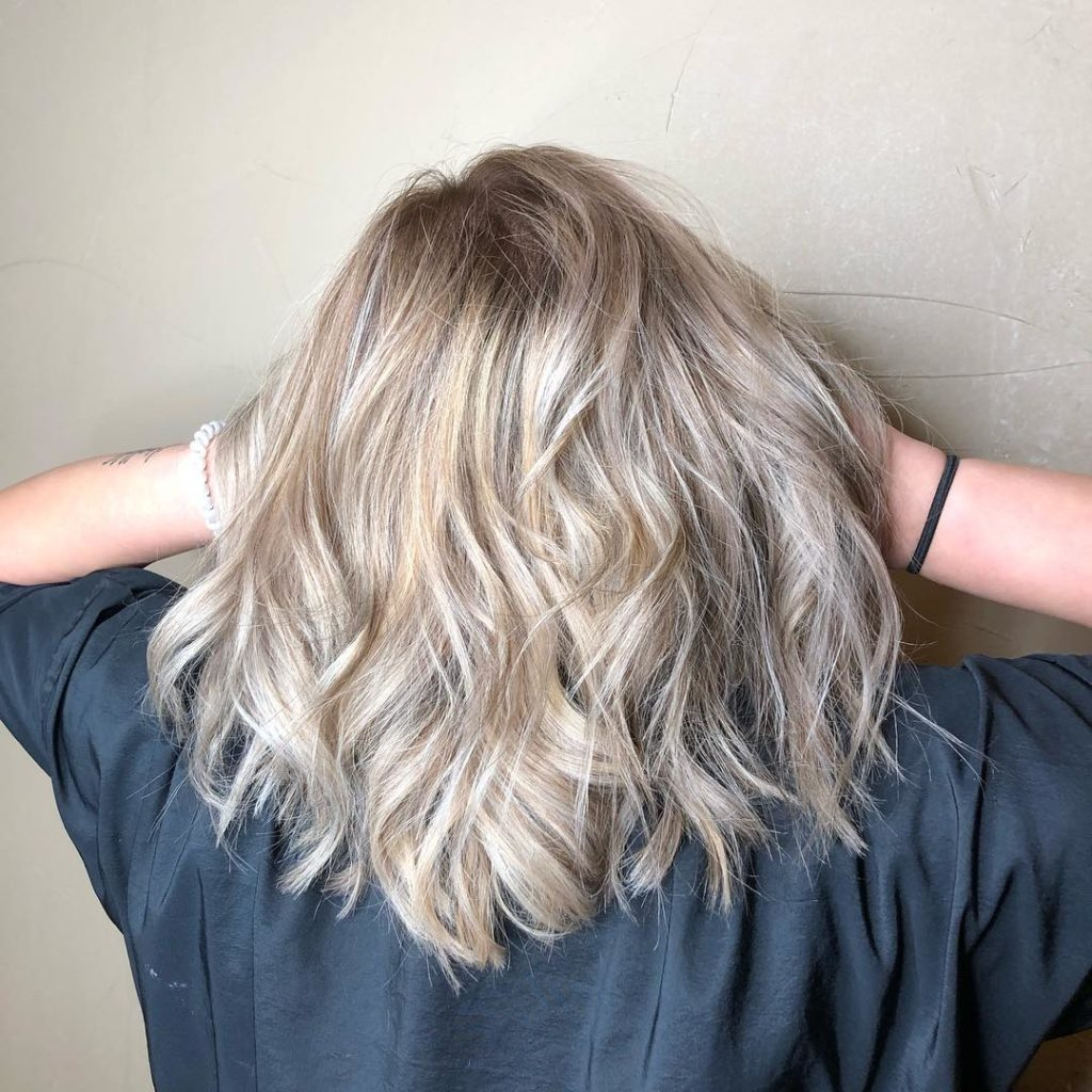 Long Ombre Hairstyles trends 2020 Gray to blonde 1