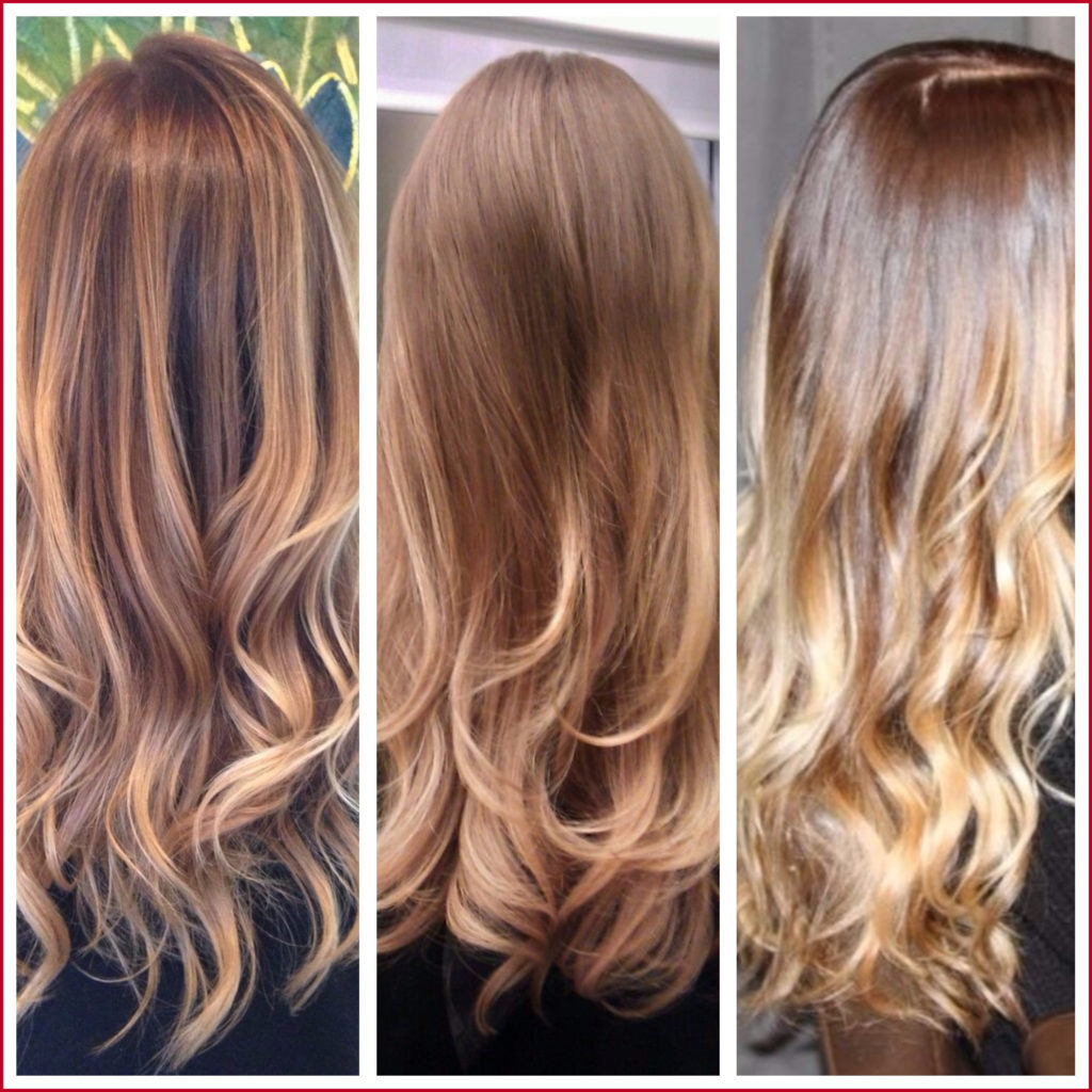Long Ombre Hairstyles trends 2020 caramel blone color highlights 1