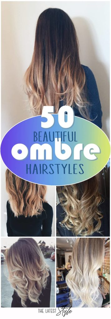 Long Ombre Hairstyles trends 2020 dark brown to blonde 1
