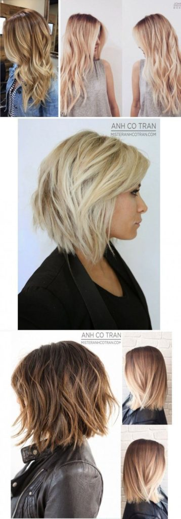 Long Ombre Hairstyles trends 2020 soft and subtle blonde highlights 1