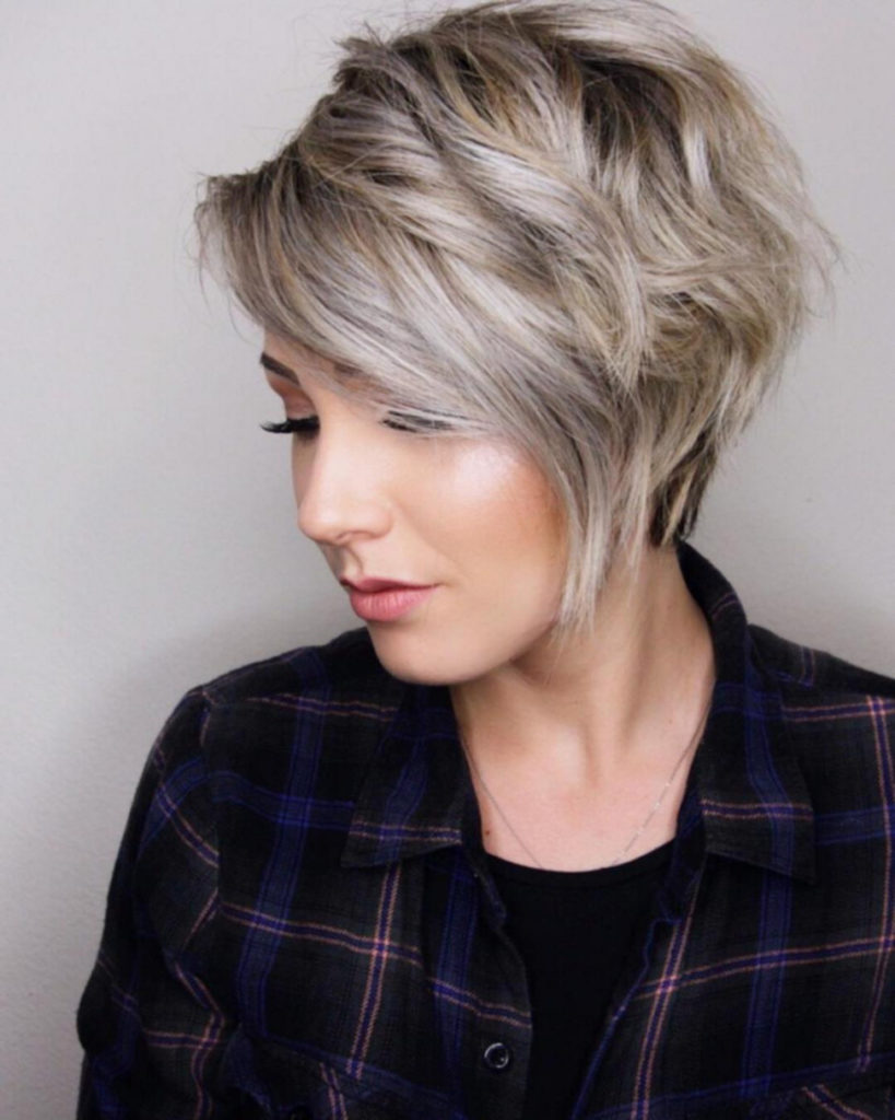 Long Pixie Haircuts trends 2020 Gray 1
