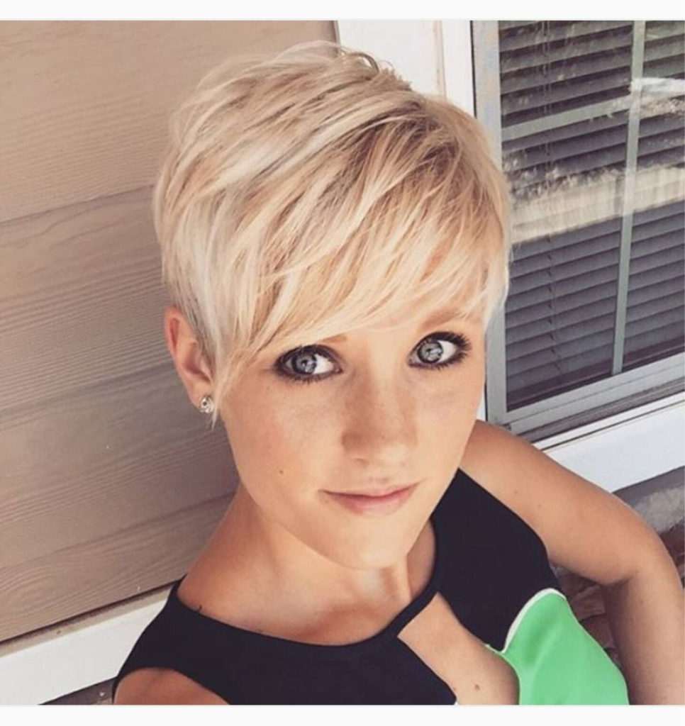 Long Pixie Haircuts trends 2020 BLonde Color 1