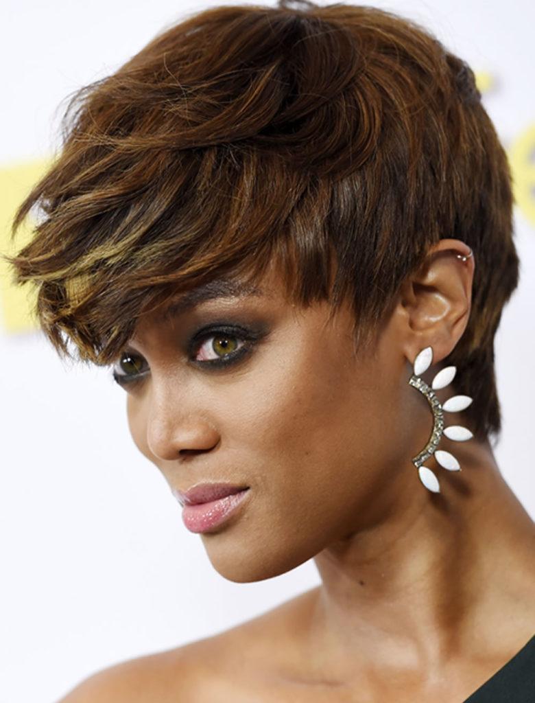 Long Pixie Haircuts trends 2020 Short Caramel brown