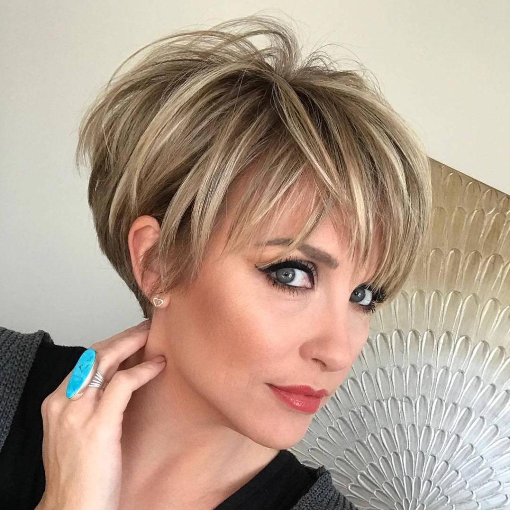 Long Pixie Haircuts trends 2020 Subtle Blonde