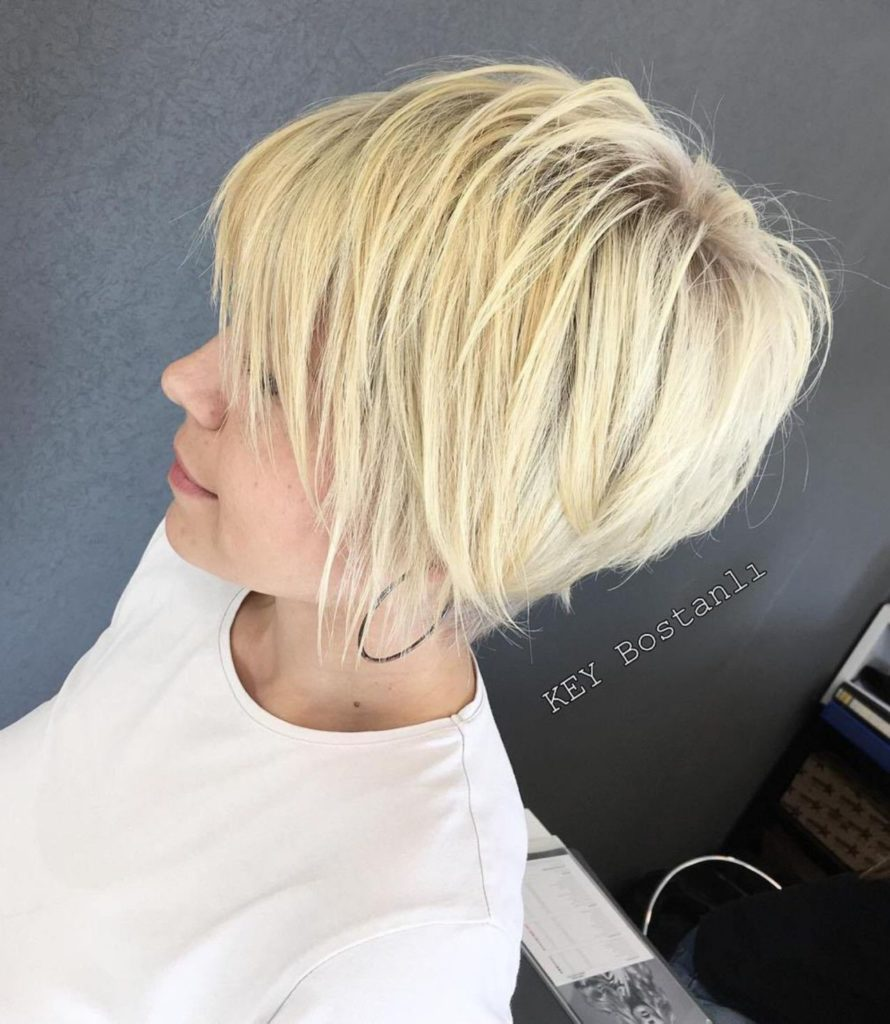Long Pixie Haircuts trends 2020 blonde Highlights 1