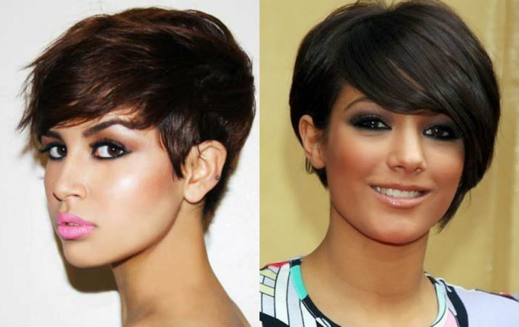 Long Pixie Haircuts trends 2020 brown colors