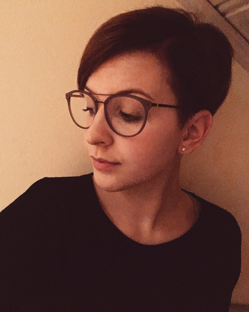 Long Pixie Haircuts trends 2020 dark brown color