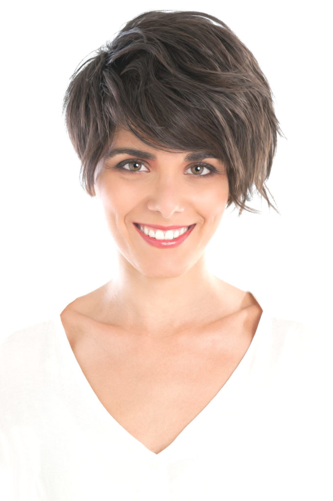 Long Pixie Haircuts trends 2020 dark color 1