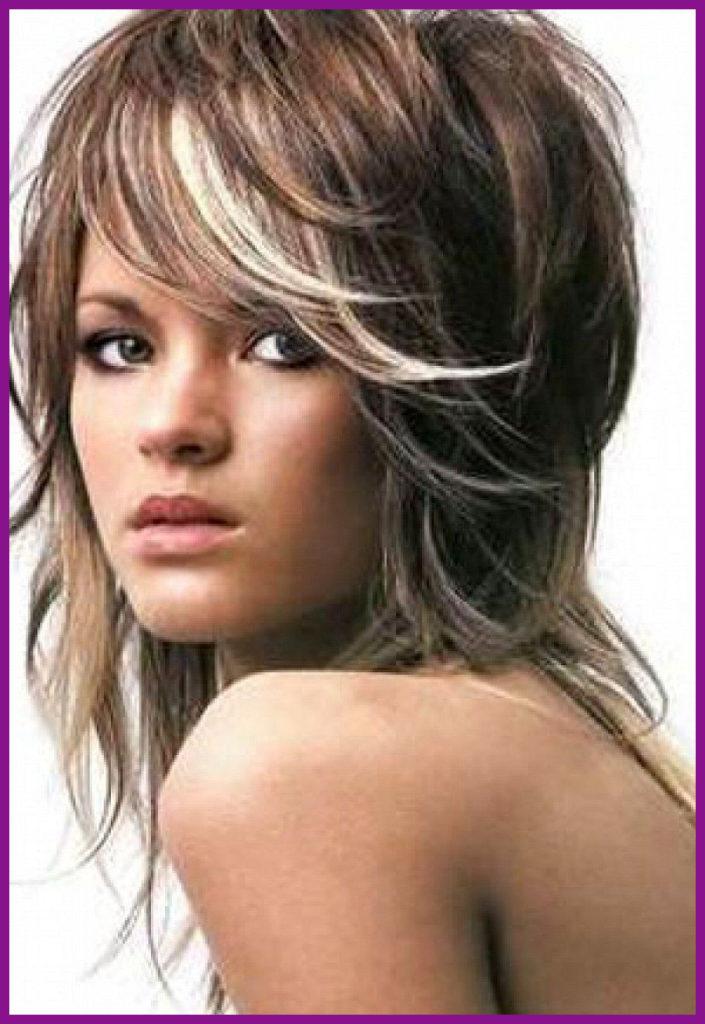 Long Shag Haircuts trends 2020 Ash blonde Choppy layers