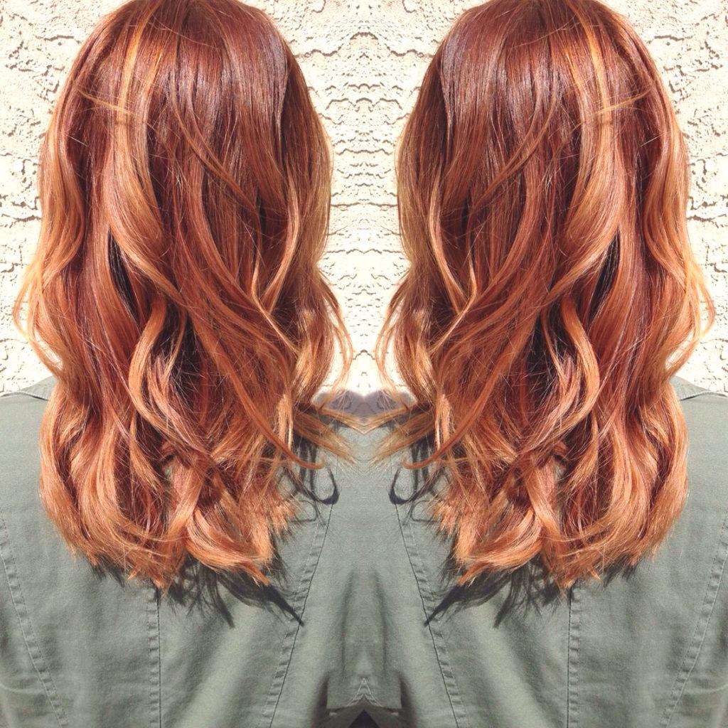 Medium Highlights Hairstyles trends 2020 1254