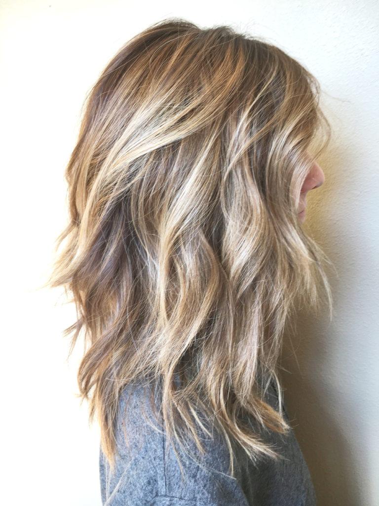 Medium Highlights Hairstyles trends 2020 Ash blonde micro highlights 3