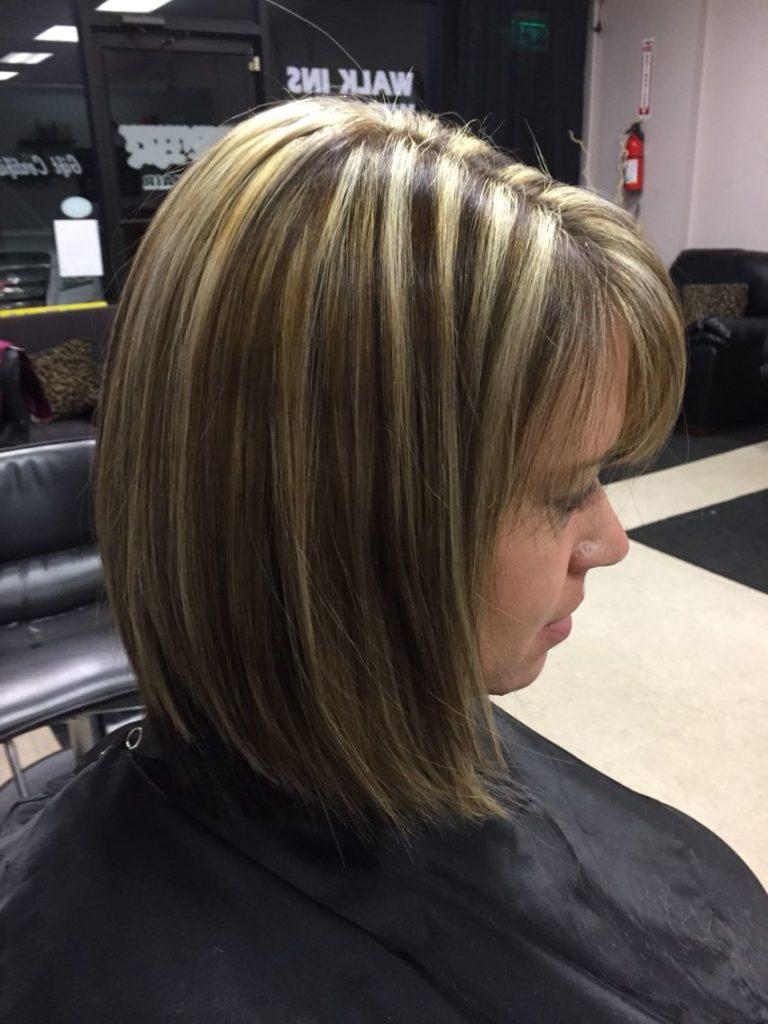 Medium Highlights Hairstyles trends 2020 Blonde 3
