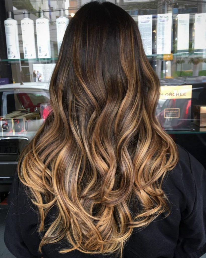 Medium Highlights Hairstyles trends 2020 Blonde ombré hue 3
