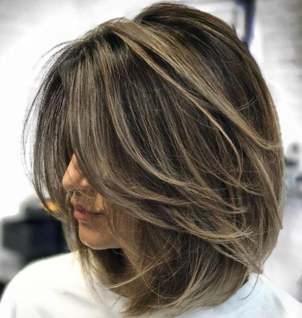 Medium Highlights Hairstyles trends 2020 Caramel ash blonde hair color 3