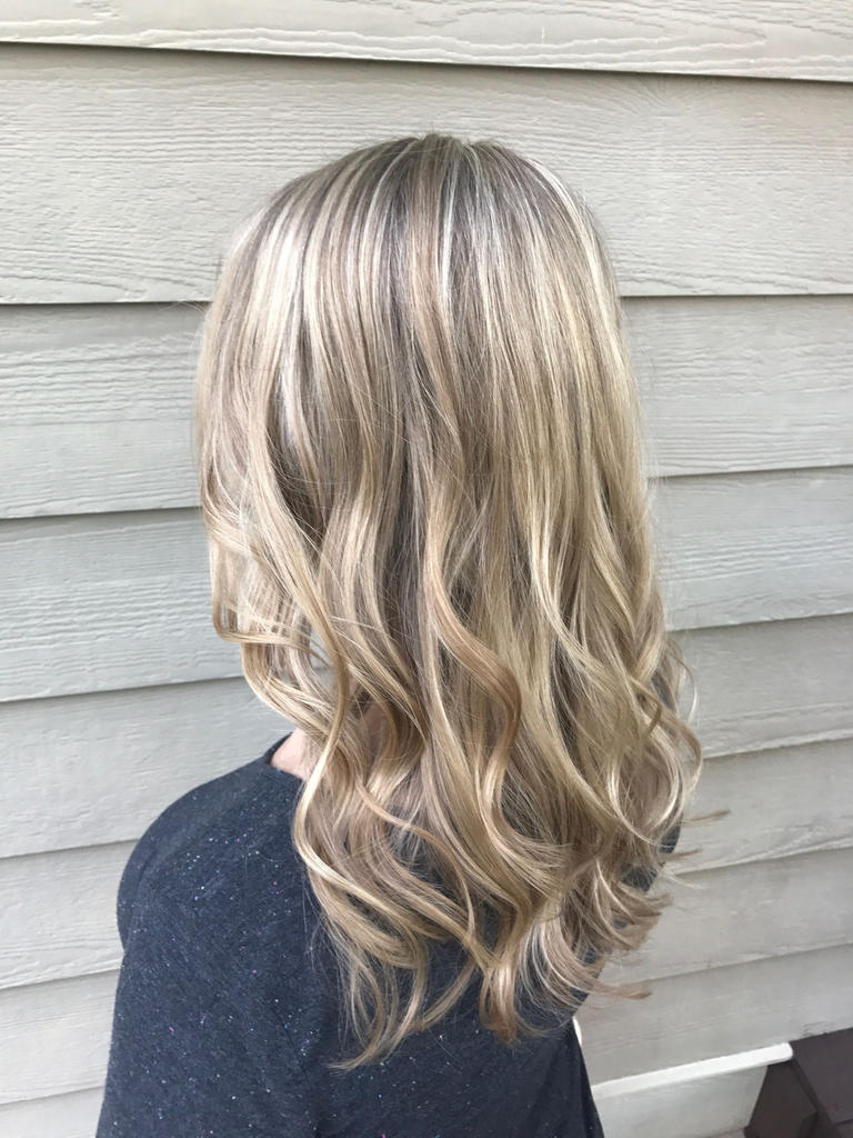 Medium Highlights Hairstyles trends 2020 ash golden dirty blonde color 3