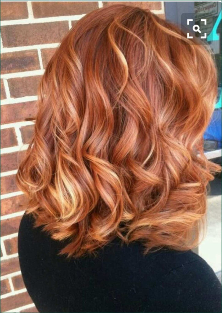 Medium Highlights Hairstyles trends 2020 blonde pink and oange 3