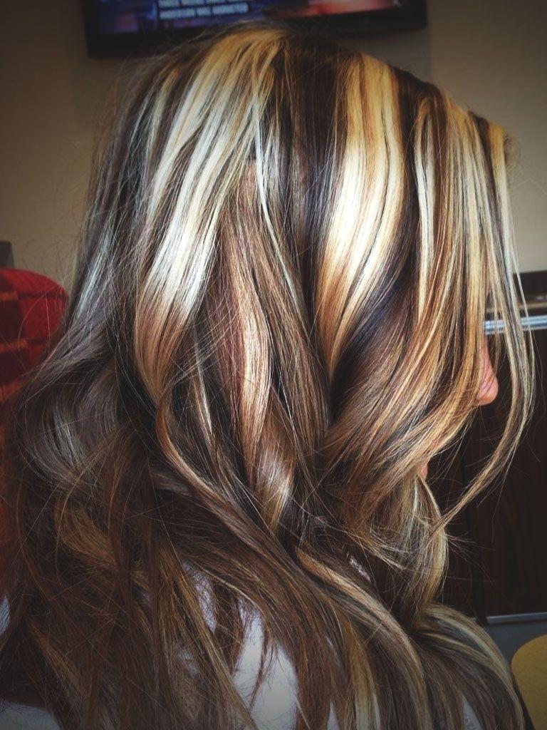 Medium Highlights Hairstyles trends 2020 caramel blonde tints 3