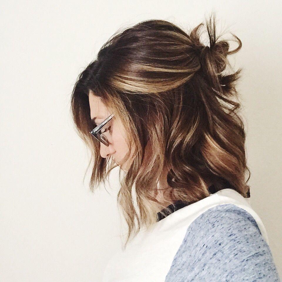 Medium Highlights Hairstyles trends 2020 cinnamon brown 3