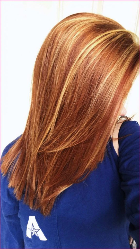 Medium Highlights Hairstyles trends 2020 practically strawberry blonde colors 3