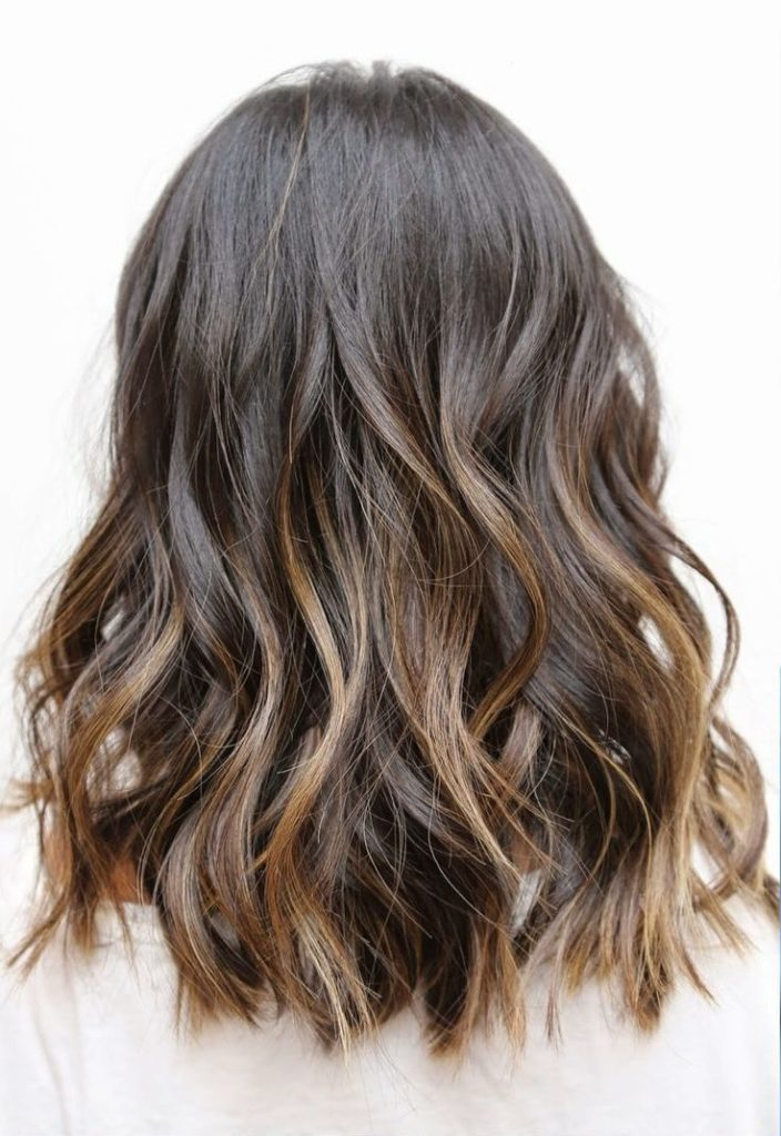 Medium Ombre Hairstyles trends 2020 Brown ombré 3