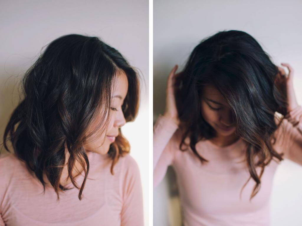Medium Ombre Hairstyles trends 2020 black to brown highlights 4