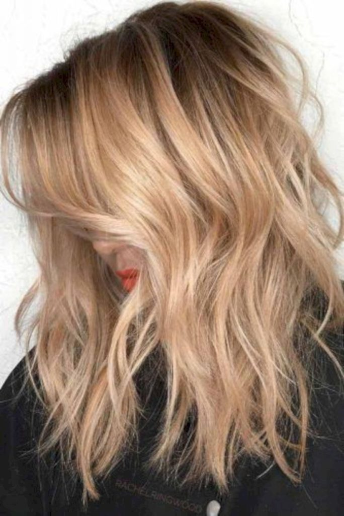 Medium Ombre Hairstyles trends 2020 black to platinum blonde ombre 2