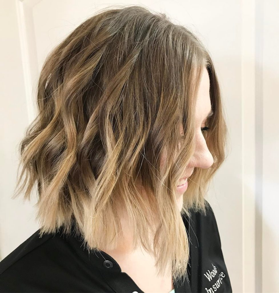 Medium Ombre Hairstyles trends 2020 blonde shades 2 1