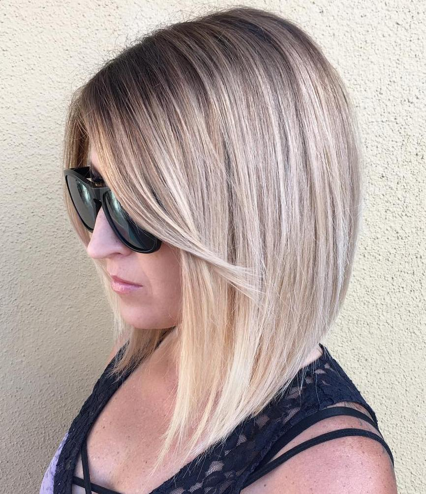 Medium Ombre Hairstyles trends 2020 ombre dark blonde 3