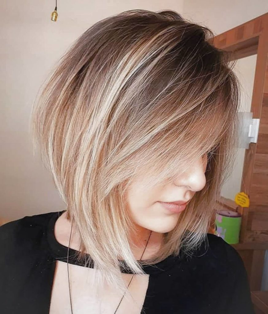 Medium Ombre Hairstyles trends 2020 ombre dark to soft blonde 3