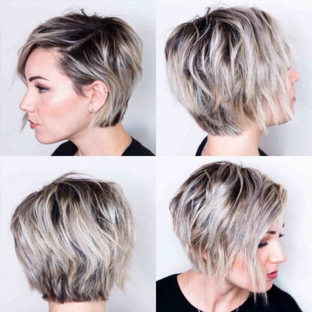 Medium Pixie Haircuts trends 2020 Ash Gray Color 3