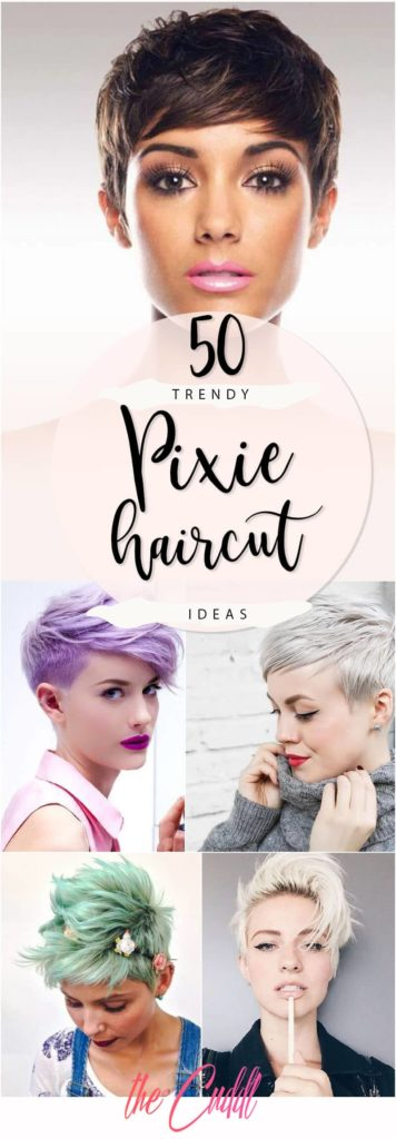 Medium Pixie Haircuts trends 2020 Colors 3