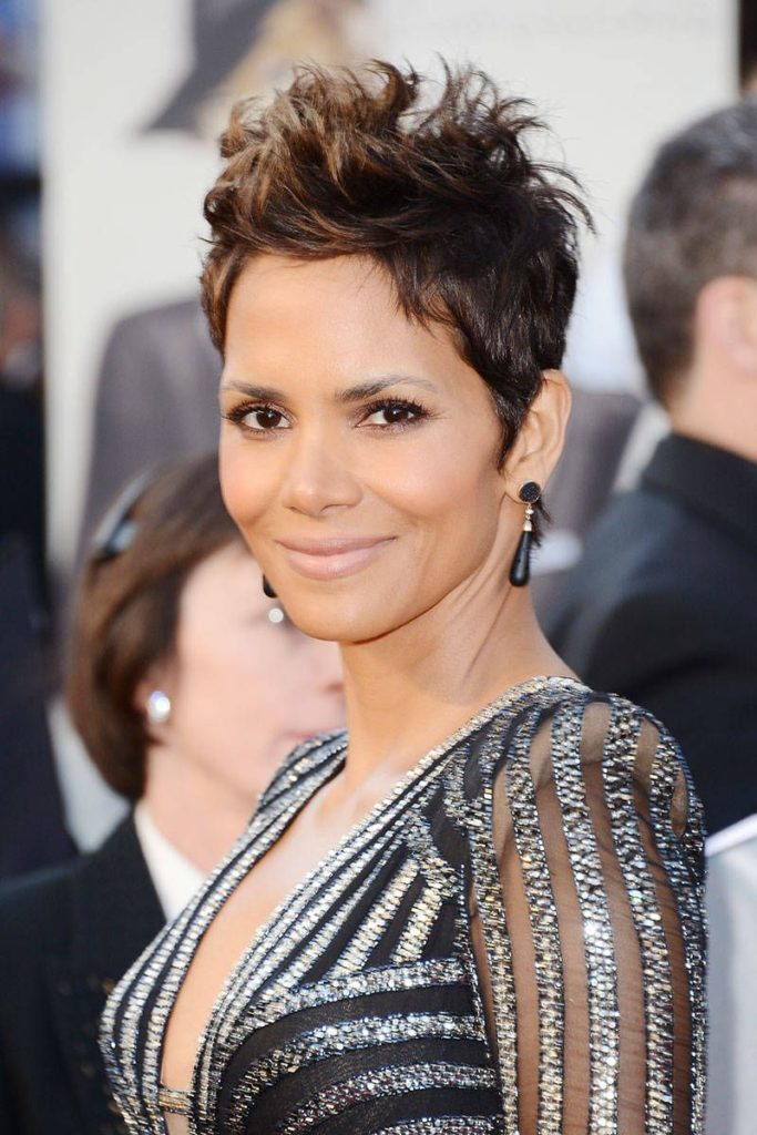 Medium Pixie Haircuts trends 2020 brown to caramel 3