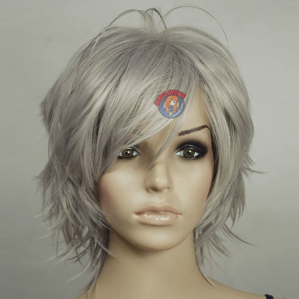 Medium Pixie Haircuts trends 2020 gray pixie wig 3